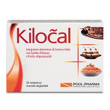 Kilocal Integratore dietetico 20 compresse rivestite