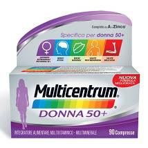 MULTICENTRUM DONNA 50+ 90 compresse PRODOTTO ORIGINALE!