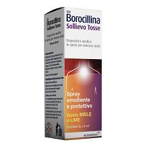 NEOBOROCILLINA SOLLIEVO TOSSE Spray Miele e Lime 20 ml