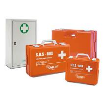 SAFETY Pronto Soccorso Cassetta Multisanitaria