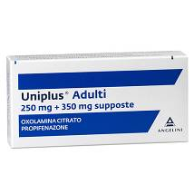 UNIPLUS 10 Supposte Adulti 10 supposte