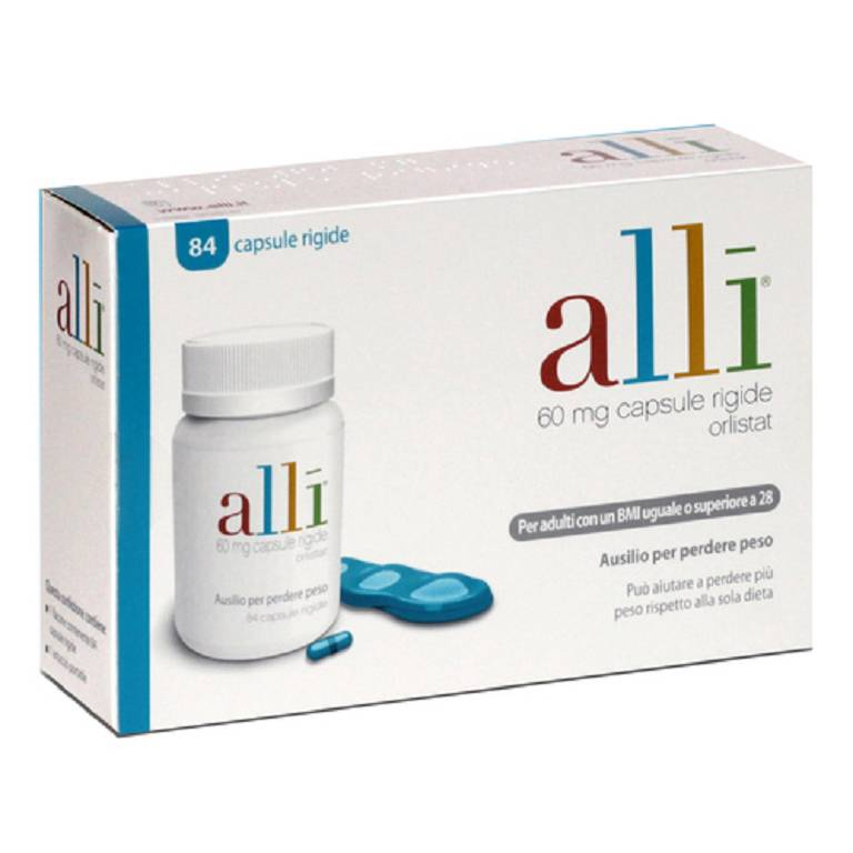 ALLI*84CPS 60MG