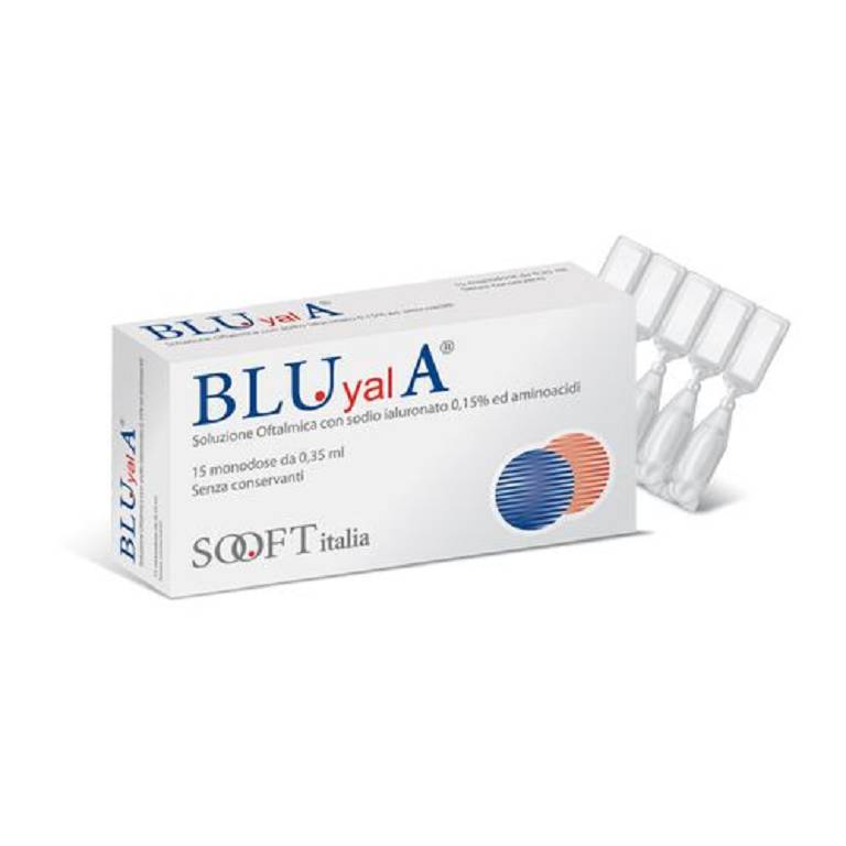 BLUYAL A 15FL MONODOSE 0,30ML
