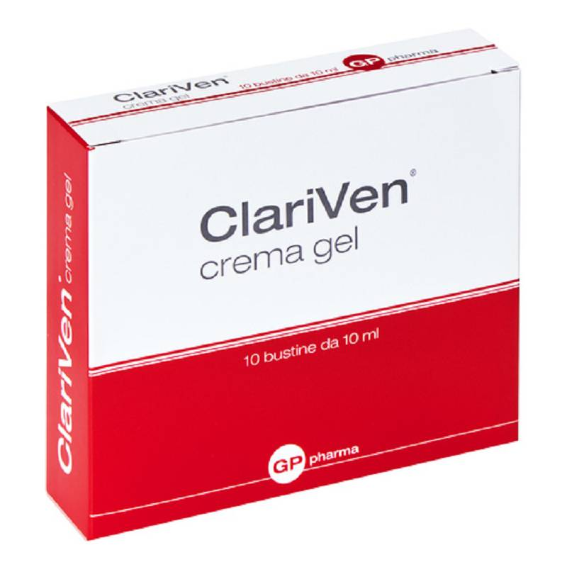 CLARIVEN CREMA GEL 10BUST 10ML