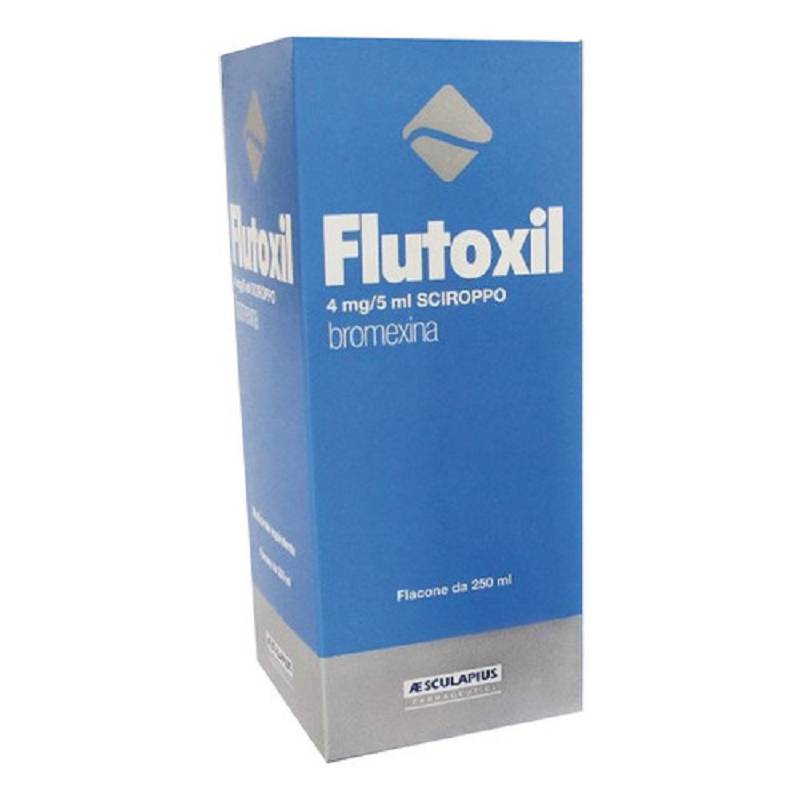 FLUITUSS SCIROPPO FLUID 250 ML 4MG/5ML