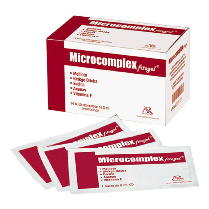 MICROCOMPLEX Fitogel Crema 14 buste