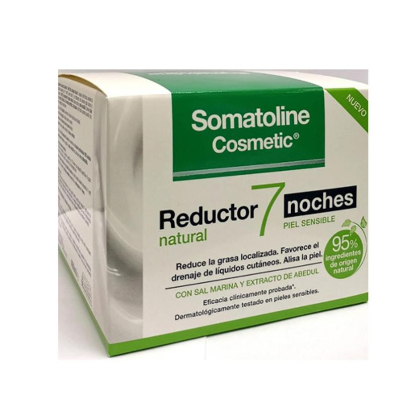 Somatoline Cosmetic Snellente 7 Notti Natural pelle sensibile 400 ml