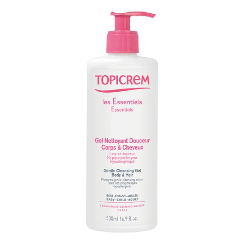 TOPICREM GEL DET DELICATO500ML