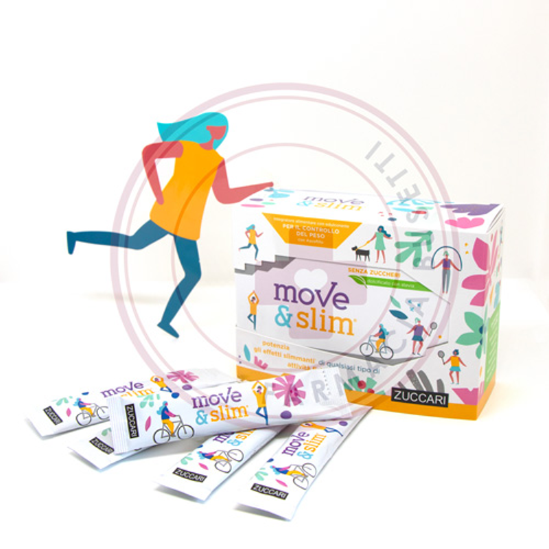 ZUCCARI MOVE&SLIM 25STICKPACK