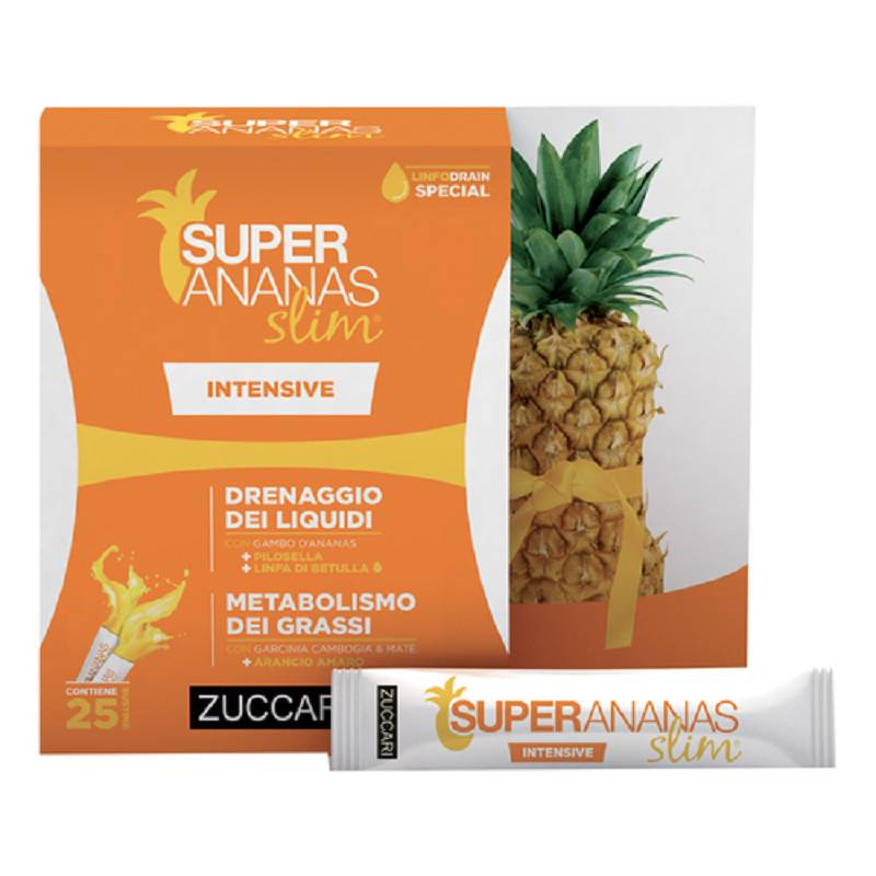 Zuccari SUPER ANANAS SLIM INTENSIVE 250ML drenante